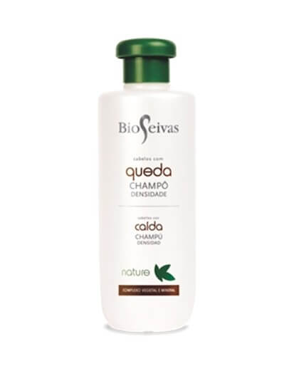 Nature shampoo for weakened hair and with bioseivas drop