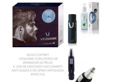 COFFRET ANTI-QUEDA VITAUOME EDIÇÃO ESPECIALCOFFRET ANTI-FALL VITAUOME SPECIAL EDITION