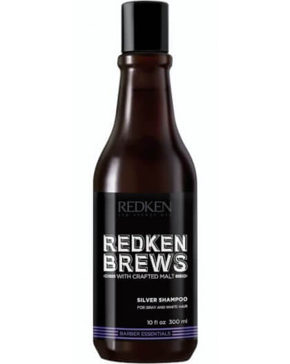 Redken Brews Men's Silver Champô 300Ml