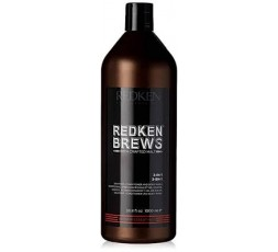 Redken Brews Men's Go Clean Champô 1000Ml