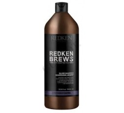 Redken Brews Men's Silver Champô 1000Ml