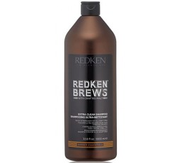 Redken Brews Men's  Clean Champô 1000Ml