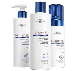 L'ORÉAL SERIOXYL COFFRET FULLER HAIR 2 FOR COLORED HAIR